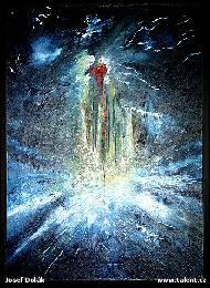 Název díla obrazu anděl smrti