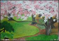 Maria Vamosiova - Blooming trees