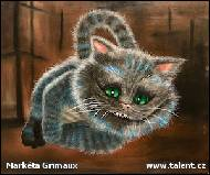 Markéta Grimaux - Cheshire Cat II.
